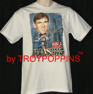 York Giants Quarterback NFL Football T Shirt Graphic Print T