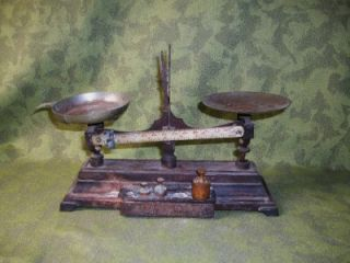 Antique Henry Troemner Philadelphia Pharmacy Scale Patd 1877