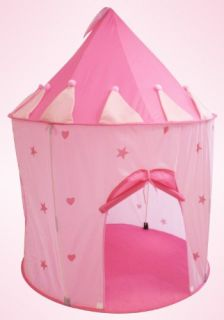 Features of Charming Fairy Princess Castle Play Tent (Great for Indoor