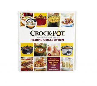 welcome crock pot the original slow cooker recipe collection