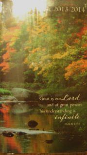 2013 2014 Pocket Calendar 2 Year Planner CUTE Prayer on Cover