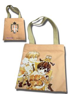 Ouran High School Host Club Group Tote Bag New