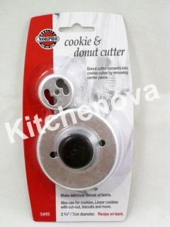 Cookie Donut Cutter Doughnut Maker Biscuits Norpro 3495