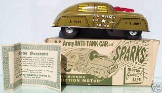 COURTLAND NO 4040 U S ARMY ANTI TANK CAR EX