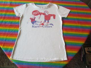 Kurt Cobain and Courtney Love Rock N Roll Shirt Nirvana RARE