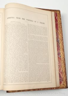 FAMILY HOLY BIBLE c.1850 V. Large w. Record Page for Births, Marriages
