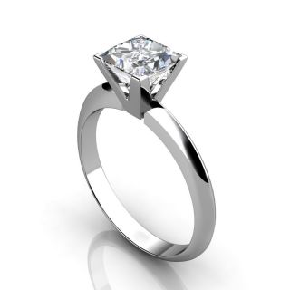 00ct Princess Cut Engagement Ring 14k Gold