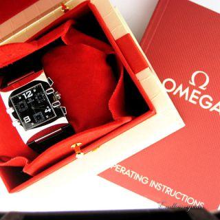 Omega Constellation Quadra with Diamonds Ladies Watch 1841 55 11 Swiss
