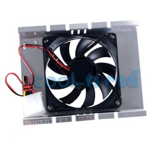 New 3 5 HDD Computer Hard Drive Disk Cooling Cooler Fan C