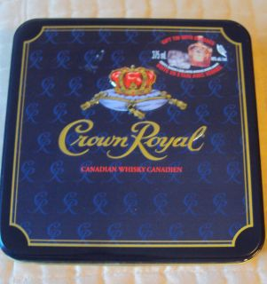Crown Royal Canadian Whisky Canadien Tin Only Was The Gift Set Tin