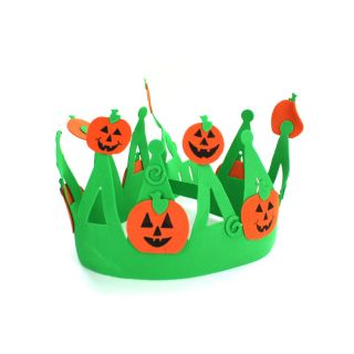 New Wholesale Case Lot 30 Halloween Jack O Lantern Crowns Foam Costume