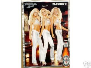 Michelob Light Beer The Dahm Triplets Poster
