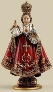 Infant Jesus of Prague Home Chapel Devotional Statue