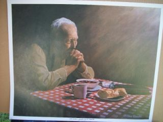 by Richard Brooks Our Daily Bread Religious Themed Bible Prayer