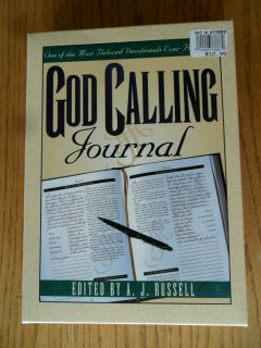 God Calling Journal Leather Bound Devotional New in Box A. J. Russell