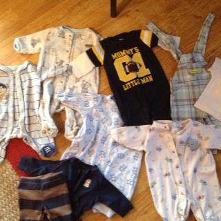 Newborn Baby Boy Clohes in Mixed Iems & Los