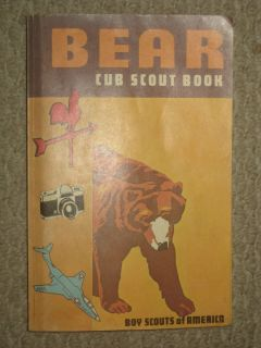 Bear Cub Scout Book Boy Scouts of America Illustrated
