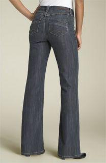 Christopher Blue Tulip Flare Leg Stretch Jeans