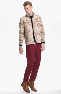 Topman Camo Field Jacket, Sweater, Oxford Shirt & Skinny Chinos