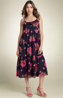 Juicy Couture Ikat Floral Print Dress
