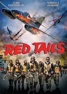 DVD Red Tails Same Day Shipping Cuba Gooding Jr Terrence Howard