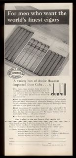 Romeo Y Julieta Sampler Havana Cuba Cuban Cigars Print Ad