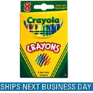 New Crayola Classic Color Crayons 8 Colors 12 Boxes