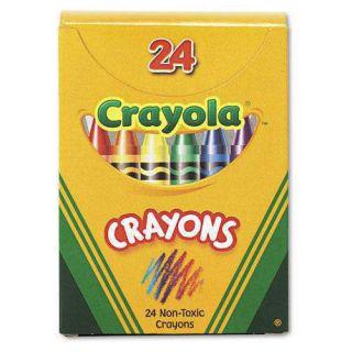 Assorted Crayola Classic Color Crayons 24 PK 2DayShip