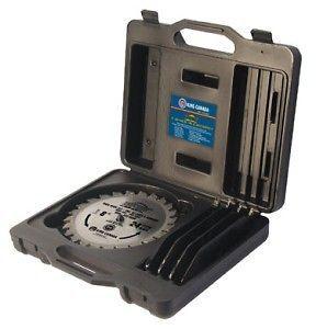 King Canada Tools KSC 8000 8 DADO BLADE SET Tru Cut carbide tipped 24