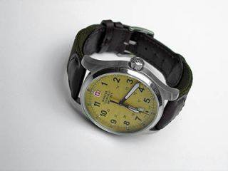 SWISS ARMY MILITARY TIME MENS FIELD ISSUE TERRAGRAPH WATCH $350