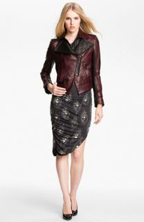 Kelly Wearstler Triton Asymmetrical Leather Jacket