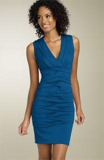 Nicole Miller Sleeveless Jersey Sheath Dress