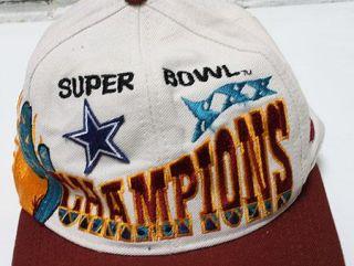 Logo Athletic Super Bowl XXX Snapback Hat Champs Dallas Cowboys
