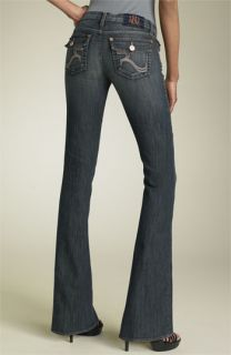 Rock & Republic Kurt Bootcut Stretch Jeans (Addicted Wash)