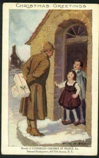 Walter de Maris Fatherless Children of France Christmas