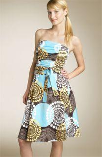Ruby Rox Ruched Poplin Tube Dress