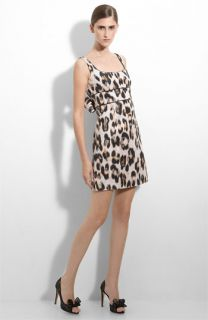 RED Valentino Leopard Print Tank Dress