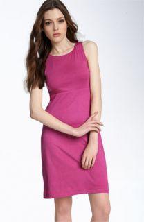 Velvet by Graham & Spencer Cutout Back Stretch Cotton Dress