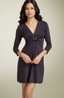 BCBGMAXAZRIA Knot Front Jersey Dress (Petite)