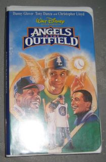 The Outfield VHS Movie Walt Disney Clamshell Case Danny Glover