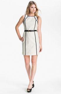 MICHAEL Michael Kors Sleeveless Scuba Dress (Petite)