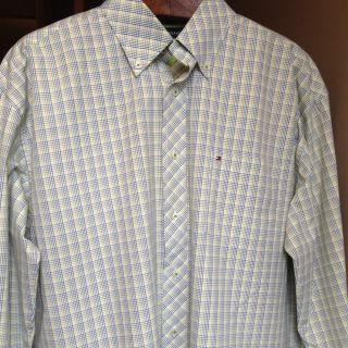 Tommy Hilfiger Men's Dress Shirt XL