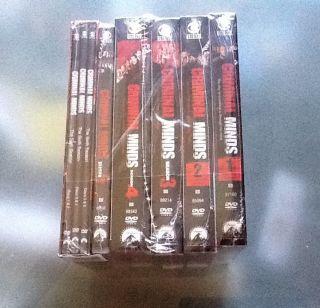 Criminal Minds Seasons 1 6 New SEALED DVD 2011 36 Disc Set