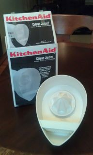 Kitchen Aid Citrus Juicer Attachment for Stand Mixer
