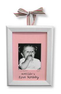 Someday Inc. Personalized My First Birthday Picture Frame