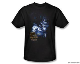 Licensed Batman Arkham Asylum Killer Croc Shirt s 3XL