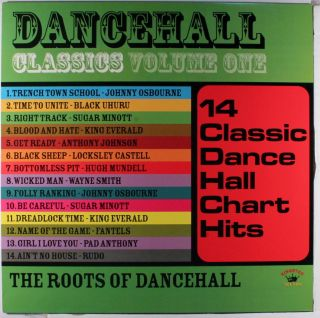 Various Dancehall Classics Vol 1 The Roots of Dancehall Reggae Vinyl