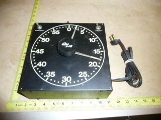Gra Lab Electric Darkroom Timer Model 300 Enlarger Safelight Tested