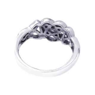 rings plain cute celtic knot heart sterling silver ring 7