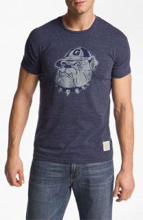 The Original Retro Brand Georgetown Hoyas   Stitch T Shirt